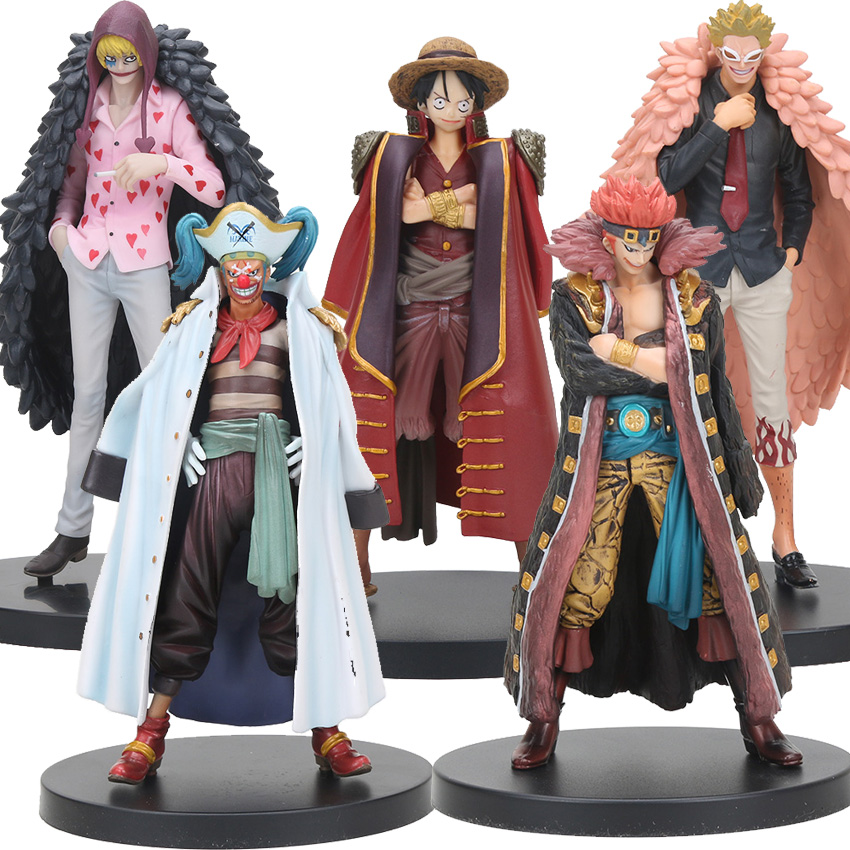 One Piece – Worst Generation Pirates Action Figures (16-20cm) Action & Toy Figures