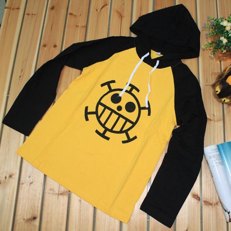 One Piece – Trafalgar Law Cotton Hoodie Hoodies & Sweatshirts