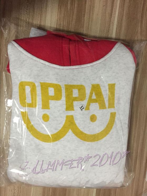 One Punch Man – Saitama Oppai Hoodie Hoodies & Sweatshirts