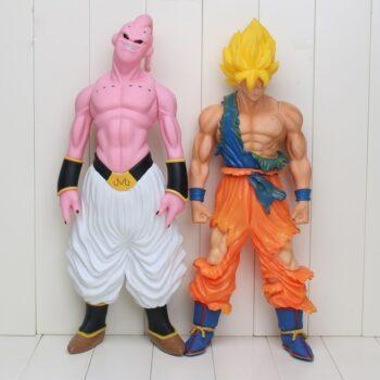 Dragon Ball – Super Saiyan Goku and Majin Buu Action Figures (44cm) Action & Toy Figures