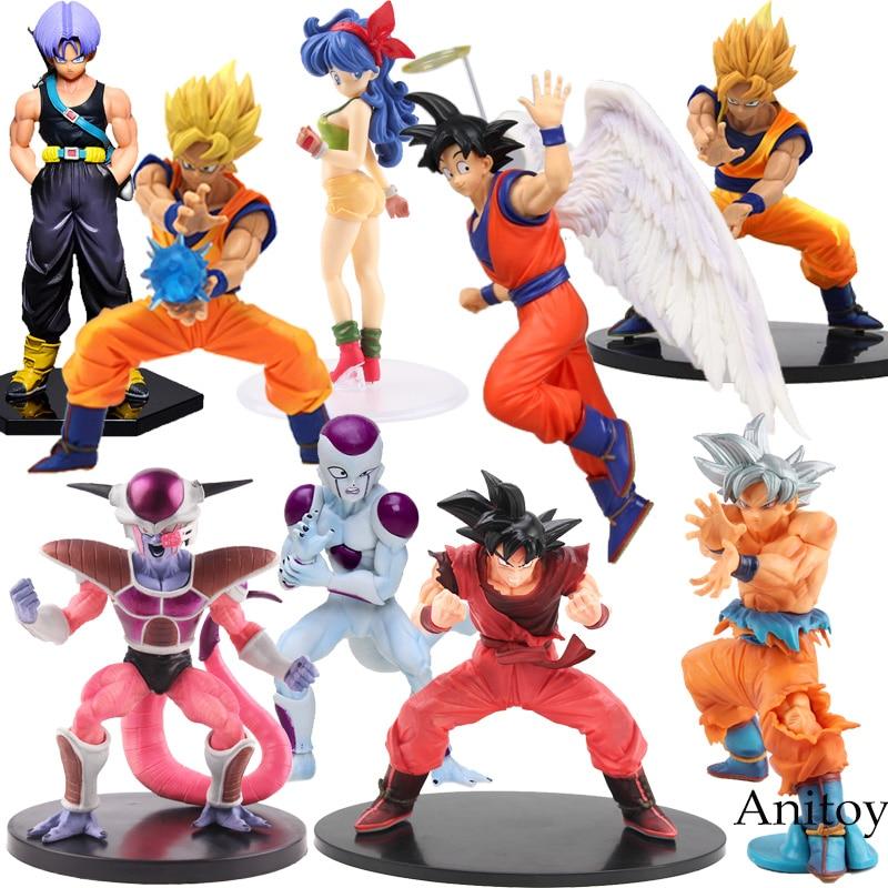 Dragon Ball – 17 Styles Goku, Vegeta, Gohan, Cell and Frieza Battle Ver. Figures (11-21cm) Action & Toy Figures