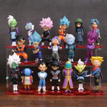 Dragon Ball – 18pcs/set Characters Collectible Figure (5-9cm) Action & Toy Figures