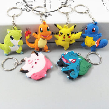 Pokemon – Cute Collection Keychain Pendant (18 Types) Keychains Pendants & Necklaces