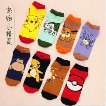 Pokemon – Low Cut Socks (13 Styles) Shoes & Slippers
