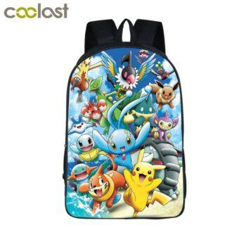 Pokemon – 25 Printed Rare Pokémon School Bags Bags & Backpacks