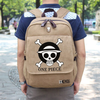 One Piece – Straw Hat Pirates Emblem Backpack Bags & Backpacks