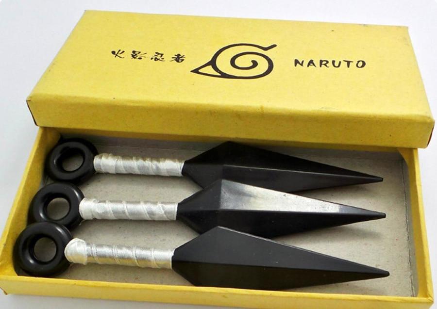 Naruto – Ninja Kunai 3pcs/set (3 Colors) Cosplay & Accessories