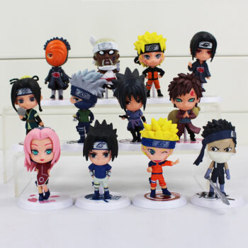 Naruto – 6pcs/set Chibi Characters Figures (7cm) Action & Toy Figures