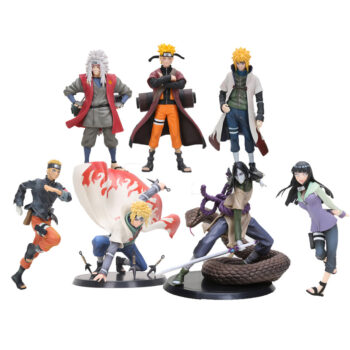 Naruto – Naruto, Hinata, Minato, Orochimaru, Jiraiya Action Figures (17cm) Action & Toy Figures