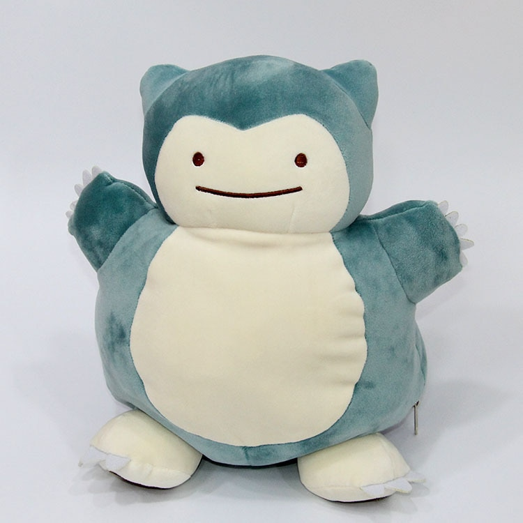 Pokemon – Ditto and Snorlax Pillow Plush (30cm) Bed & Pillow Covers Dolls & Plushies