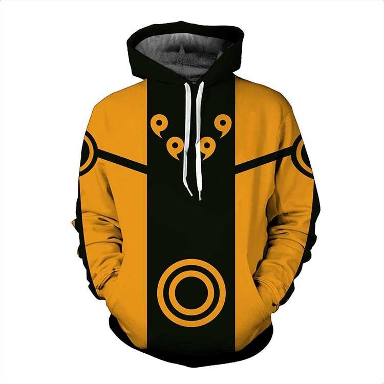 Naruto – Ninja 3D Printed Characters Hoodies (20 Designs) Hoodies & Sweatshirts