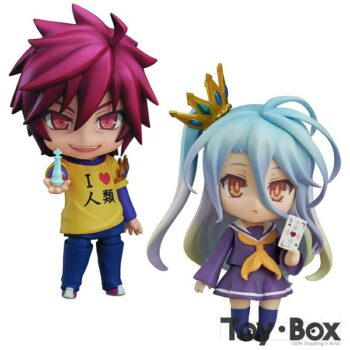 No Game No Life – Sora and Shiro Action Figures (10cm) Action & Toy Figures