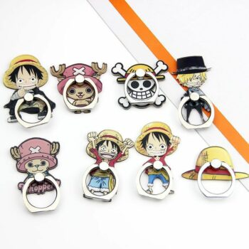 One Piece – Luffy, Sanji and Chopper Phone Ring Holder Phone Accessories