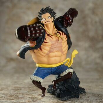 One Piece – Luffy Gear Fourth Action Figure (15cm) Action & Toy Figures