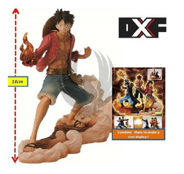 One Piece – Luffy, Ace, Sabo Brotherhood 3pcs/set Action Figure (14-17cm) Action & Toy Figures