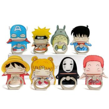 Phone Ring Holder with Anime Characters (8 Styles) Phone Accessories