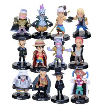 One Piece – Villains Pirates 12pcs/set Figure (5cm) Action & Toy Figures