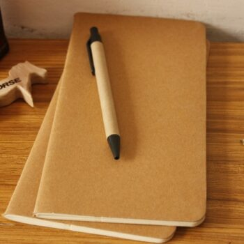 Professional Cowhide Notebook Sketchbook Pens & Books