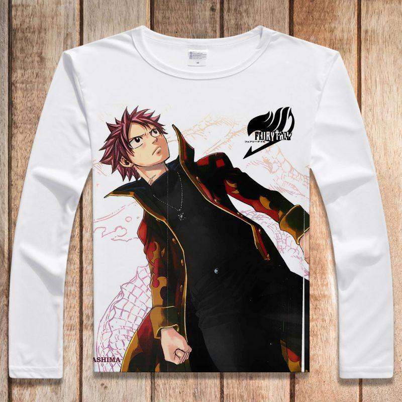 Fairy Tail – Natsu, Happy, Lucy, Gray, Erza Sweatshirt Hoodies & Sweatshirts