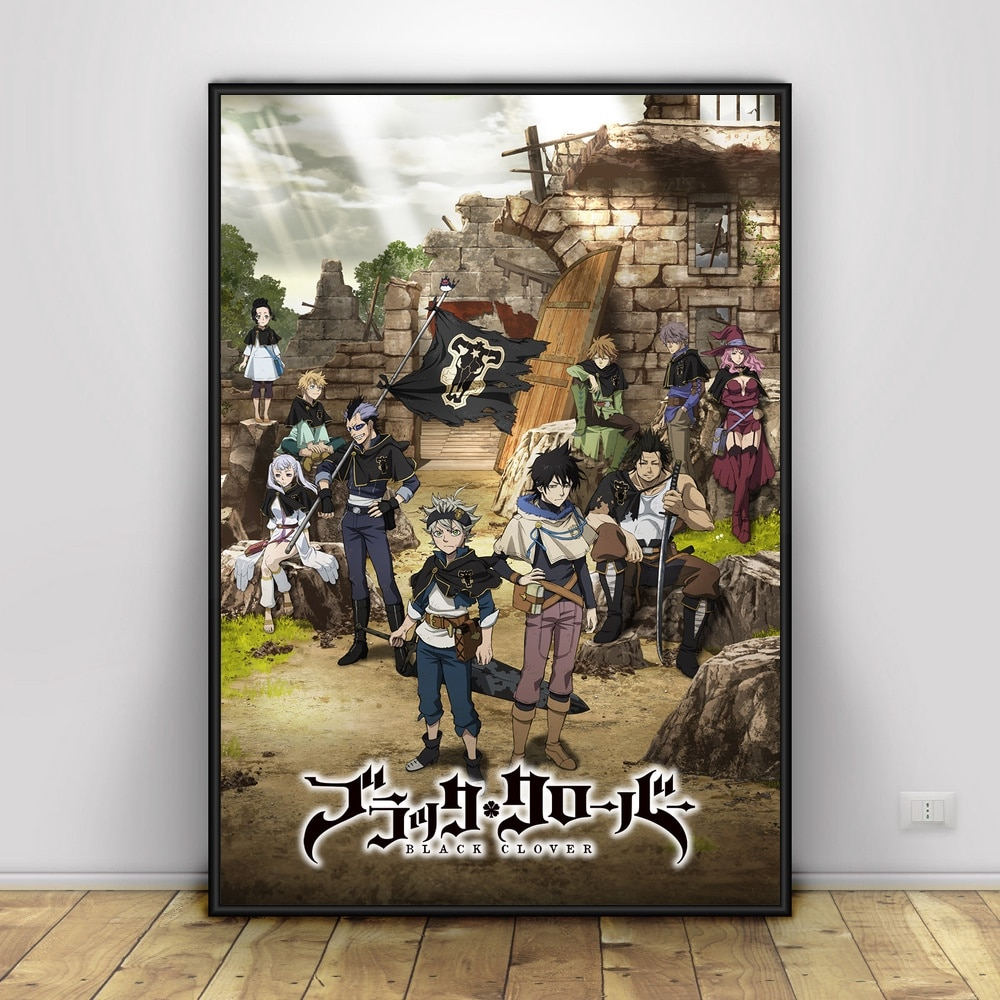 Buy Black Clover Wall Poster 14 Styles Posters