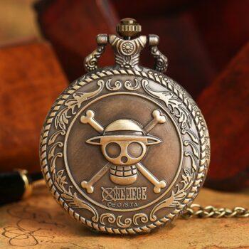 One Piece – Straw Hat Pirates Pocket Watch (11 Styles) Watches