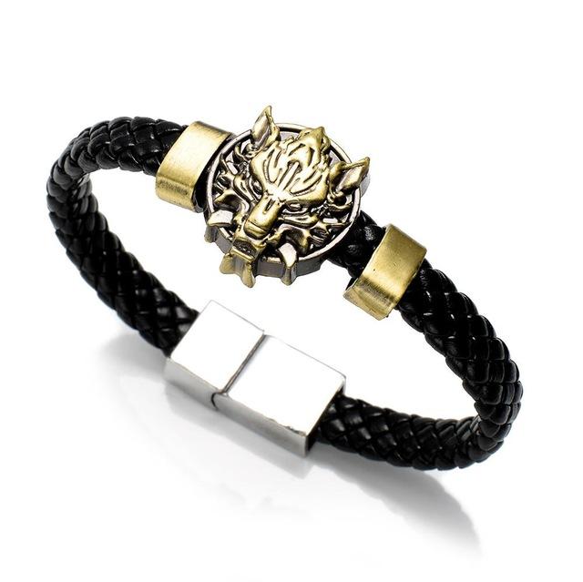 19 Anime Leather Woven Bracelets Bracelets