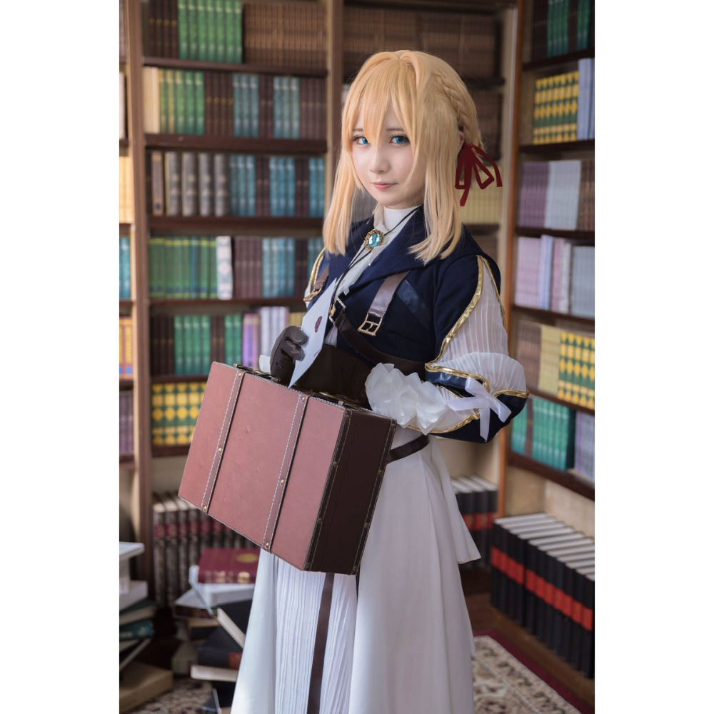 Buy Violet Evergarden - Cosplay Costume - Cosplay ...