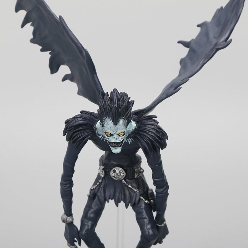 Buy Death Note 6pcs Set Light Yagami Ryuk L Near Misa Amane Rem Figure 6 24cm Action Toy Figures