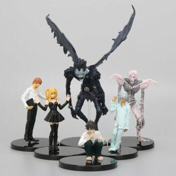 Death Note – 6pcs/set Light Yagami, Ryuk, L, Near, Misa Amane, Rem Figure Action & Toy Figures