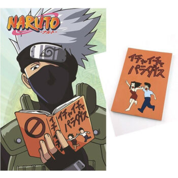 Naruto – Kakashi Hatake and Jiraiya Icha Icha Paradise Notebook Pens & Books