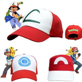 Pokemon – Ash Ketchum Premium Caps Caps & Hats