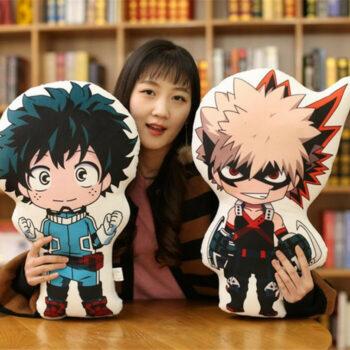 My Hero Academia – Midoriya, Bakugo, Todoroki Soft Pillow Plush (48cm) Dolls & Plushies