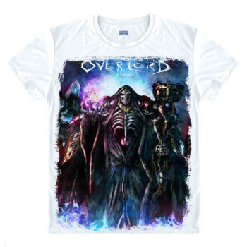 Overlord – 3D Printed White T-Shirts (20 Styles) T-Shirts & Tank Tops