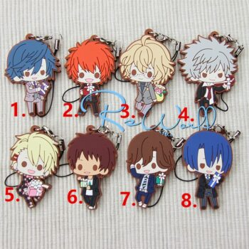 Uta no Prince-sama – 8 Characters Chibi Keychain Pendant Keychains Pendants & Necklaces