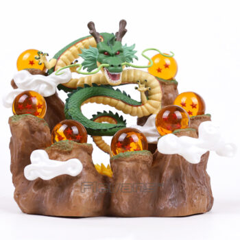 Dragon Ball – Shenron Mountain Stand and 7 Balls Figure Action & Toy Figures