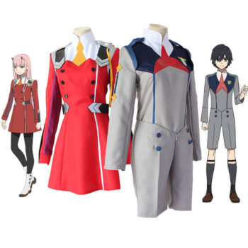 Darling in the Franxx – Zero Two, Hiro and Ichigo School Uniform Cosplay & Accessories