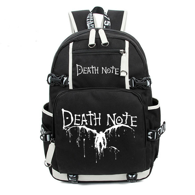 Death Note – Luminous Backpack (4 Styles) Bags & Backpacks
