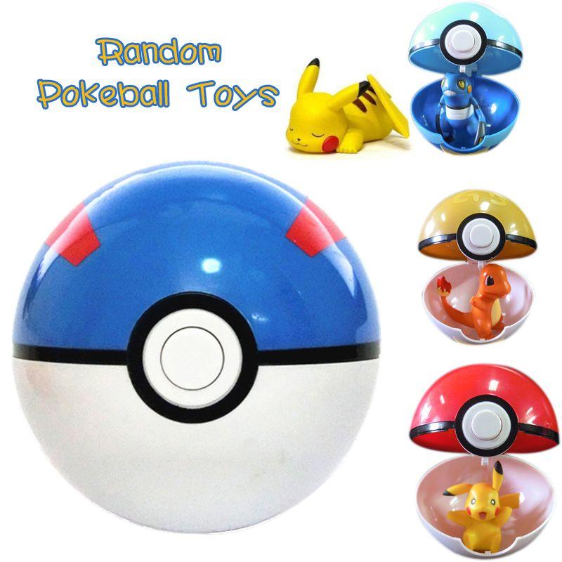 Pokemon – Pokeball with Random Pokemon Inside Action & Toy Figures Dolls & Plushies
