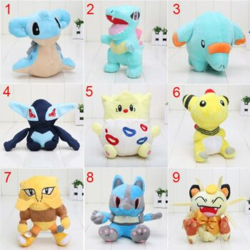 Pokemon – 9 Mini Cute Soft Stuffed Plushies (12-18cm) Dolls & Plushies