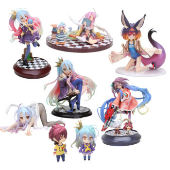 No Game No Life – 10 Styles Sora and Shiro Action Figures (10cm) Action & Toy Figures