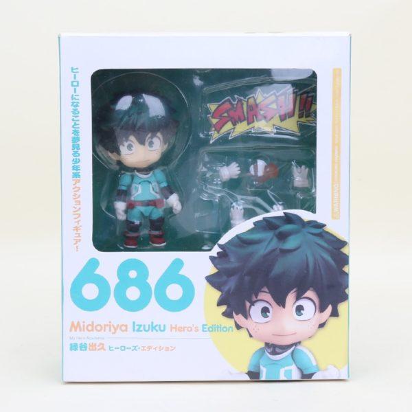 My Hero Academia Midoriya Izuku Nendoroid 686 PVC Action Figure 10cm