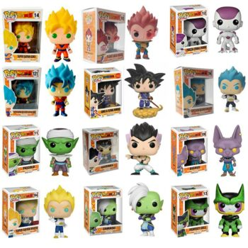 Dragon Ball – 20 Chibi Characters Figures (10cm) Action & Toy Figures