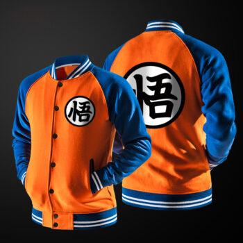 Dragon Ball – Goku Baseball Jacket (3 Colors) Jackets & Coats