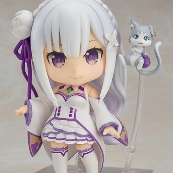 Re:Zero – Chibi Emilia Action Figure (10cm) Action & Toy Figures
