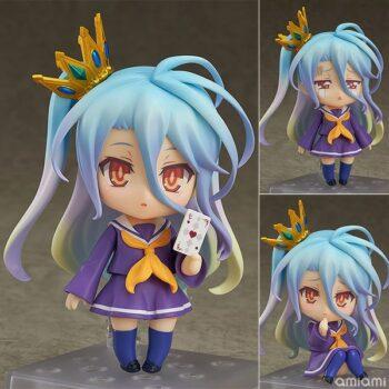 No Game No Life – Chibi Shiro Action Figure (10cm) Action & Toy Figures