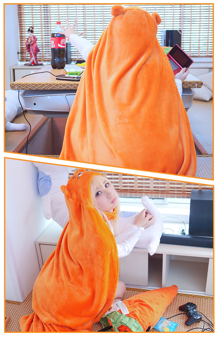 Himouto! Umaru-chan – Umaru Doma Cloak Cosplay Costume Cosplay & Accessories