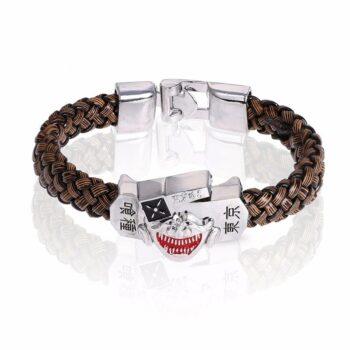 Tokyo Ghoul – Leather Woven Bracelet Bracelets