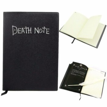 Death Note – Leather Writing Journal Notebook Pens & Books