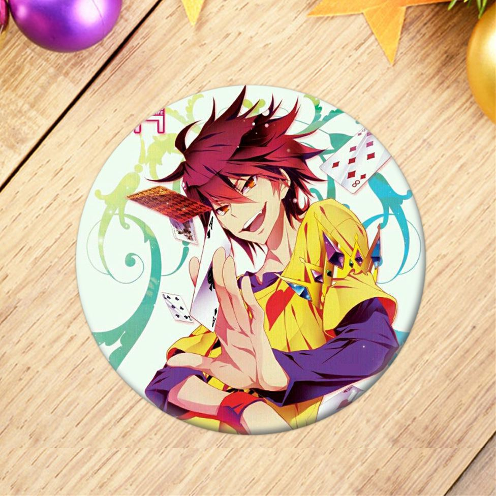 No Game No Life – 25 Types Badge Cosplay & Accessories