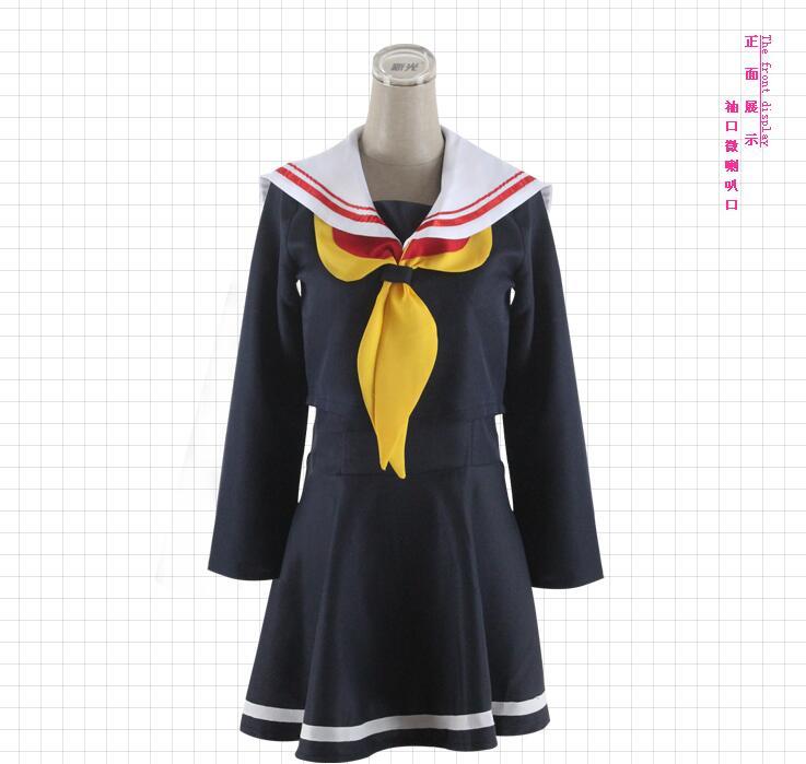 NO GAME NO LIFE Shiro School Uniforms Cosplay Costume Dress Set New